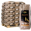 Holzpellets DIN EN plus A1 990 kg incl. Zufuhr in PLZ 87/88